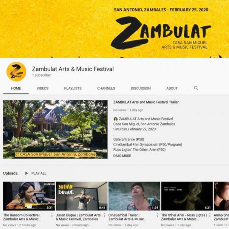 New Zambulat YouTube Channel